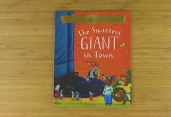 The Smartest Giant in Town 英文原版有声绘本