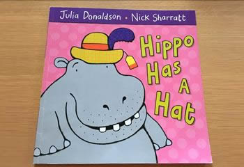 hippo has a hat 有声绘本