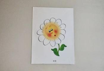 向日葵主题表情认知