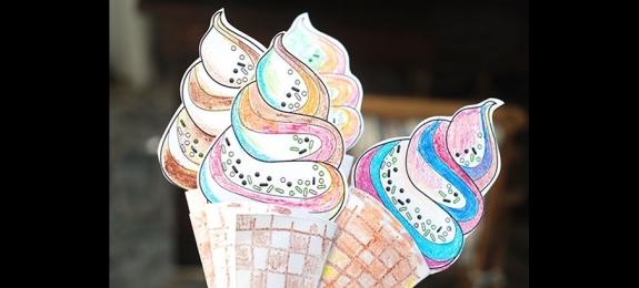 折纸创意冰淇淋