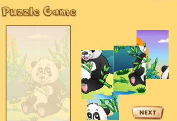 益智拼图游戏三种不同