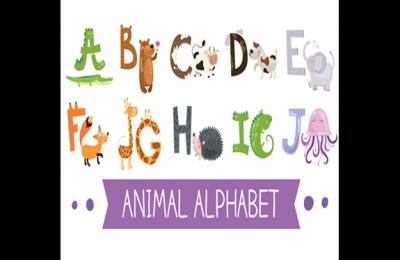 英文A-Z字母启蒙彩色