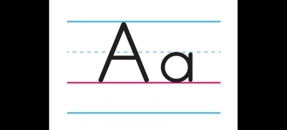 A-Z英文字母挂图