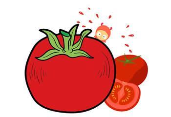涂色画-蔬菜主题