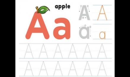 26个字母大小写练习
