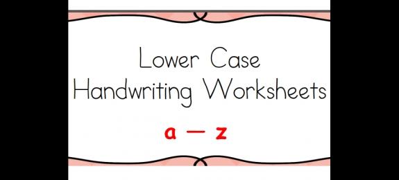 26个英文字母小写练习
