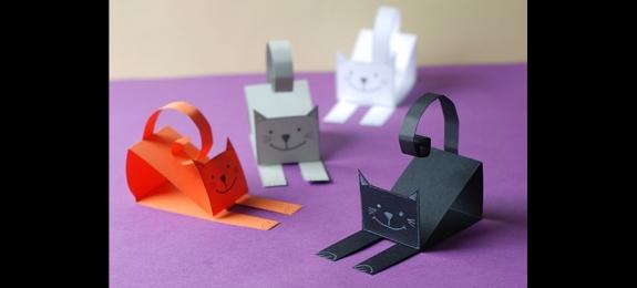 创意纸猫咪(Paper cat